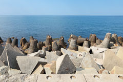 Coastal fortifications Stock Photo
