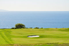 Coastal Golf Course Royalty Free Stock Photo