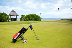 Coastal Golf Course Stock Photography