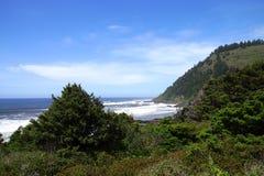Coastal headlands near Cape Perpetua Royalty Free Stock Image