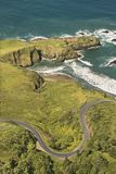 Coastal highway. Royalty Free Stock Photo