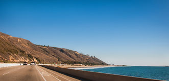 Coastal Hiway Southern California Stock Photo