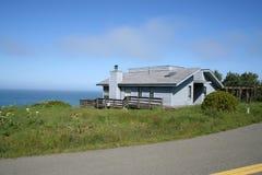 Coastal house Stock Images
