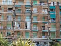 Coastal house hotel, Grado. Italy Royalty Free Stock Images