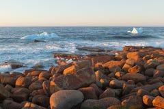 Coastal Icebergs Royalty Free Stock Photos