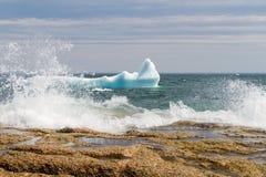 Coastal Icebergs Royalty Free Stock Images
