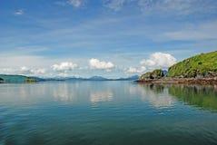 Coastal Islands on a Sunny Day Stock Photography