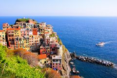 Coastal Italy view Stock Photography