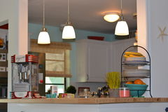 Coastal Kitchen Stock Image