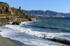 Coastal landscape in Andalusia, Spain Stock Images
