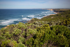 Coastal landscape of Australia Royalty Free Stock Photo