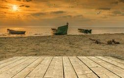 Coastal landscape, Baltic Sea Royalty Free Stock Image