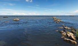 Coastal landscape, Baltic Sea Stock Photos