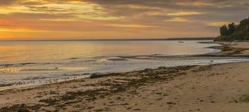 Coastal landscape, Baltic Sea Royalty Free Stock Photography