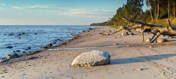 Coastal landscape, Baltic Sea Royalty Free Stock Photo