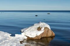 Coastal landscape at the Baltic Sea Royalty Free Stock Photo