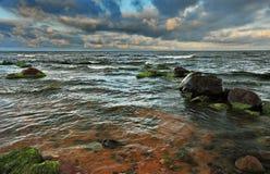 Coastal landscape at the Baltic Sea Stock Photos