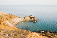 Coastal landscape of a bay Royalty Free Stock Photo