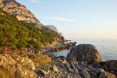 Coastal Landscape Royalty Free Stock Photo
