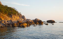 Coastal Landscape Royalty Free Stock Photos
