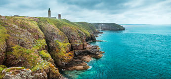 Coastal landscape Bretagne, France Royalty Free Stock Photos