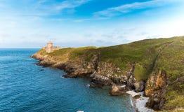 Coastal landscape Bretagne, France Royalty Free Stock Image