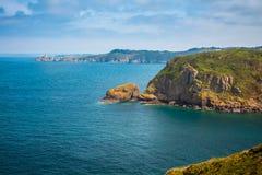 Coastal landscape Bretagne, France Royalty Free Stock Photo