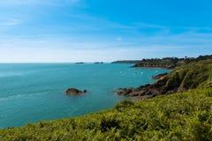 Coastal landscape Bretagne, France Stock Image