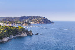 Coastal landscape in Costa Brava, Catalonia Stock Photo