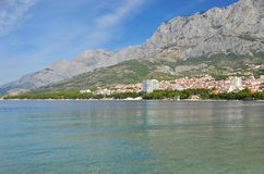 Coastal landscape in Croatia Stock Photography