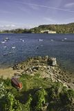 Coastal landscape of Ferrol Royalty Free Stock Image