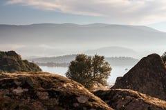 Coastal landscape. Royalty Free Stock Image