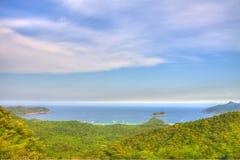Coastal landscape in Hong Kong, HDR image. Stock Photography