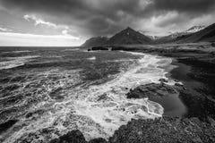 Coastal landscape in Iceland Stock Photo