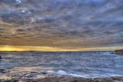 Coastal landscape image with beautiful colors Royalty Free Stock Image