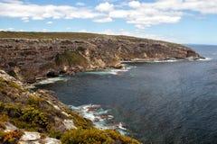 Coastal landscape on Kangaroo Island Royalty Free Stock Photos
