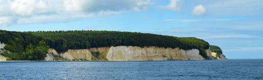 Coastal Landscape at Kap Arkona on Ruegen Island baltic Sea Royalty Free Stock Photos