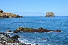 Coastal landscape in Madeira Stock Images