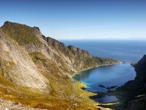 Coastal landscape, Norway Royalty Free Stock Image