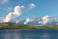 Coastal landscape at Portmagee stock photo