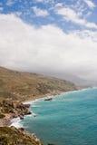 Coastal landscape at Preveli Stock Images