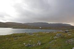 Coastal landscape on scottish isle Stock Photo