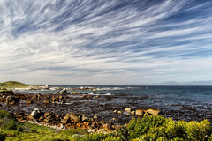 Coastal Landscape in South Africa Stock Photography