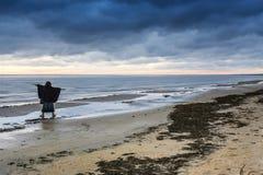 Coastal landscape after storm Royalty Free Stock Image