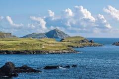 Coastal landscape at Valentia Iceland Stock Image
