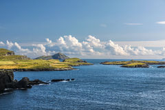 Coastal landscape at Valentia Iceland Royalty Free Stock Photography