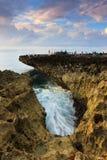 Coastal landscape at Water Blow, Bali Royalty Free Stock Image