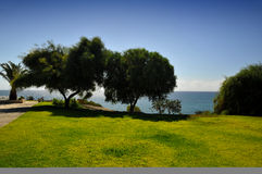 Coastal lanscape in Cyprus Stock Images