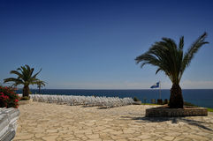Coastal lanscape in Cyprus Stock Photos