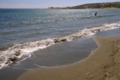 Coastal lanscape in Cyprus Stock Photography
